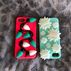 2 PINK Victoria's Secret Holiday IPhone 6/7/8Case